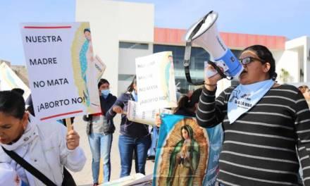 Osmind respeta presencia de grupos Provida en el Congreso Local
