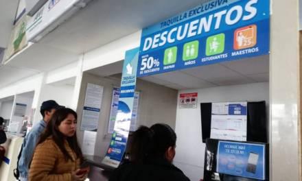 Profeco instala módulo de atención a viajeros en Central de Autobuses