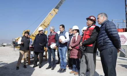 Reconoce Fayad importancia del Túnel Emisor Oriente