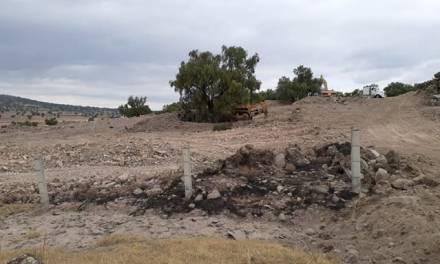 En peligro Zona Arqueológica de Tepeyahualco