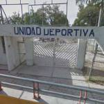 Unidad Deportiva de Ixmiquilpan en el abandono