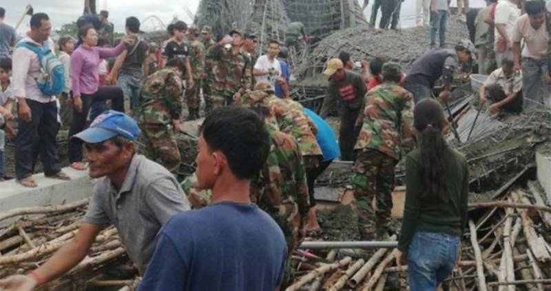Templo budista se derrumba en Camboya; hay tres muertos