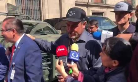 «No nos dieron atole con el dedo»: Adrián LeBarón tras reunión con Amlo