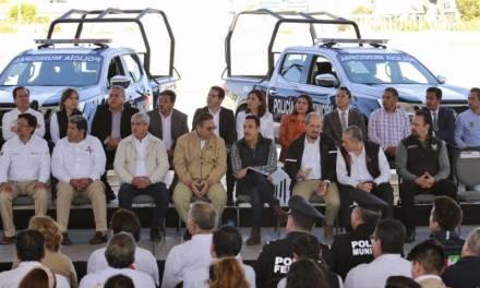 Pemex donó unidades para 12 municipios de la Región de Tula