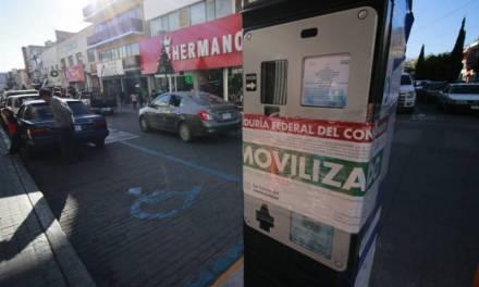 Clausuran 30 parquímetros en Pachuca