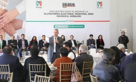 Reafirma Sergio Baños compromiso de trabajar para construir un mejor futuro