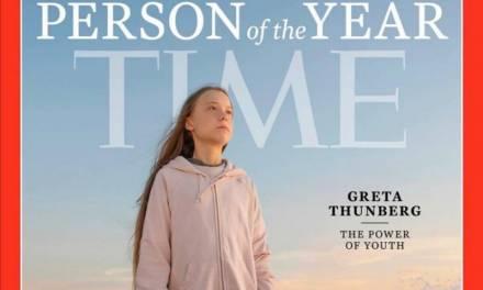 Greta Thunberg, elegida persona del año por revista Time