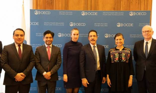 Reconoce OCDE avances de Hidalgo en diversos rubros de su desarrollo