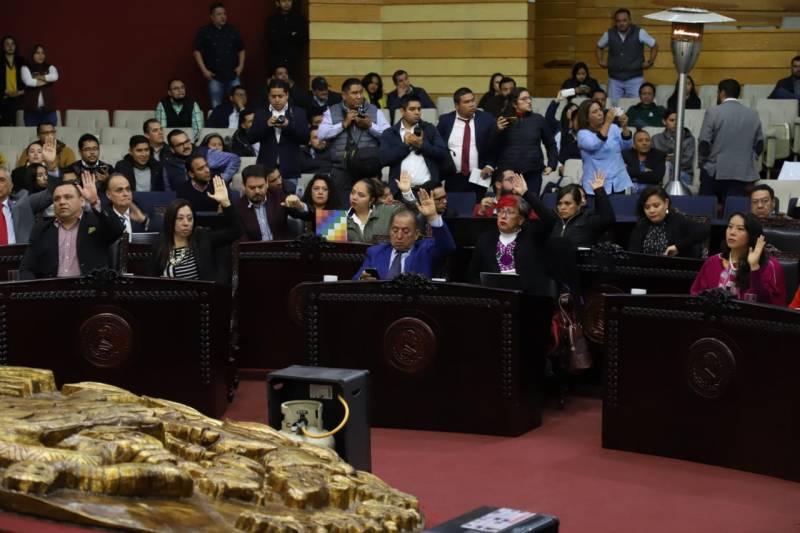 Legislatura de Hidalgo exhortó al gobierno de la Cdmx  a esclarecer feminicidio de Carla Peña
