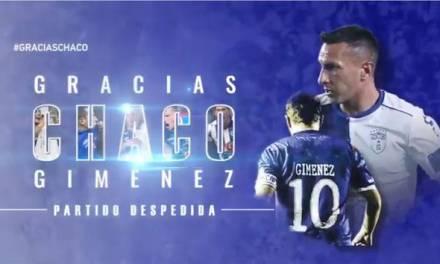 """""""Chaco"""" cuelga los botines este sábado en el Estadio Hidalgo"""