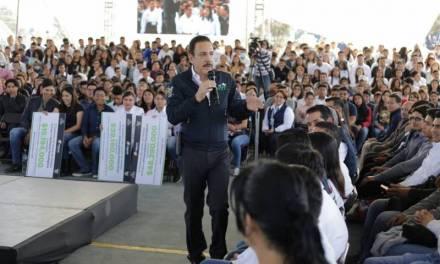 La educación es la mejor inversión en Hidalgo: Fayad