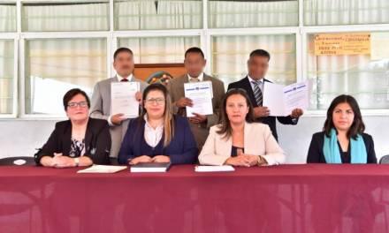 Obtienen licenciatura tres personas privadas de la libertad en el Cereso de Pachuca