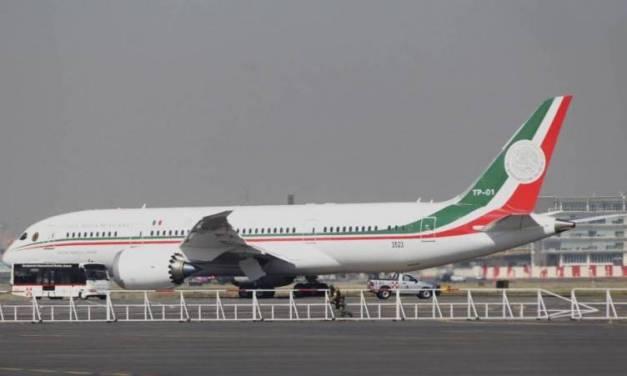Tener avión presidencial inmóvil cuesta lo mismo que si operara
