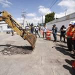Reconocen atraso en trabajos de bacheo en Pachuca