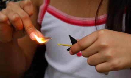 Niña de 7 años sufre quemaduras por cohete