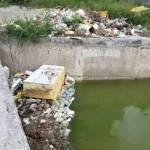 Denuncian a vecinos por tirar basura en canal