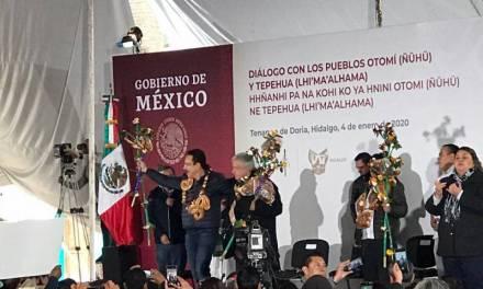 Desde Hidalgo, Amlo compromete programas para el campo
