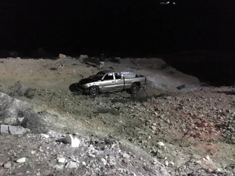 Fallece hombre en volcadura en Zimapán