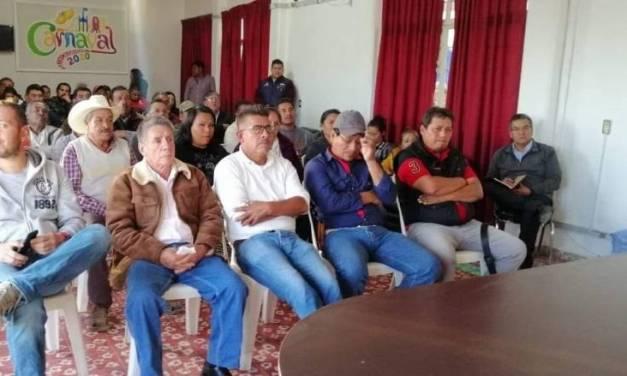 Dan a conocer avances de obras de FAISM en Mixquiahuala