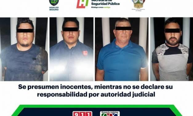 Asegura SSPH a cuatro individuos que transportaban migrantes centroamericanos