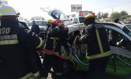 Revocaría SEMOT concesión de taxi involucrado en accidente