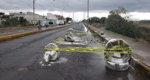Habitantes acusan modificaciones a la construcción del libramiento Cuautepec-Tulancingo