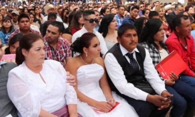 Abren registro para Matrimonios Colectivos en Zapotlán de Juárez