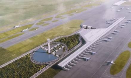 Aeropuerto de Santa Lucía estará listo en marzo de 2022, afirma Amlo