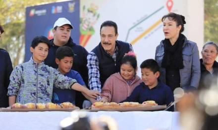 7 mil personas asistieron a la tradicional partida de rosca de Reyes