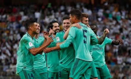 Real Madrid, primer finalista de la Supercopa de España