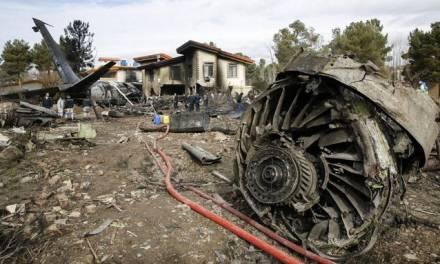 Canadá señala a Irán de derribar avión con 176 pasajeros a bordo