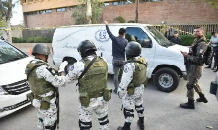 Detienen a abuelo de menor que realizó tiroteo en Torreón