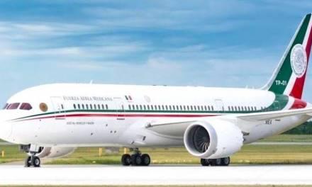 Avión presidencial regresará a México; costó 30 mdp mantenerlo en EEUU