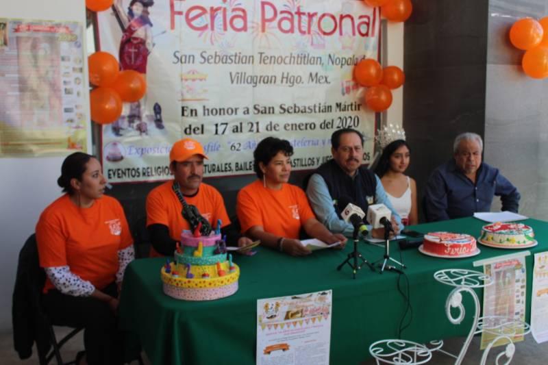 Festejarán 60 años de tradición pastelera en Nopala