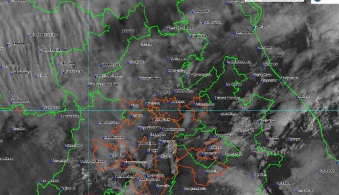 Existe probabilidad de lluvias en el estado