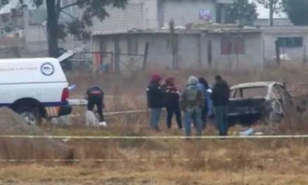 Localizan cinco cuerpos calcinados en San Lorenzo Almecatla, Puebla