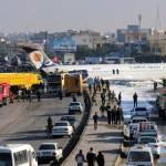 Avión aterriza de emergencia en Irán