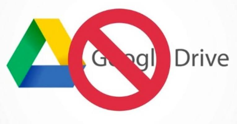 Usuarios reportan fallas en google drive