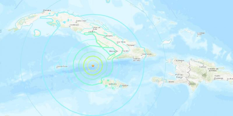 Emiten alerta de tsunami por sismo de 7.7 en Jamaica