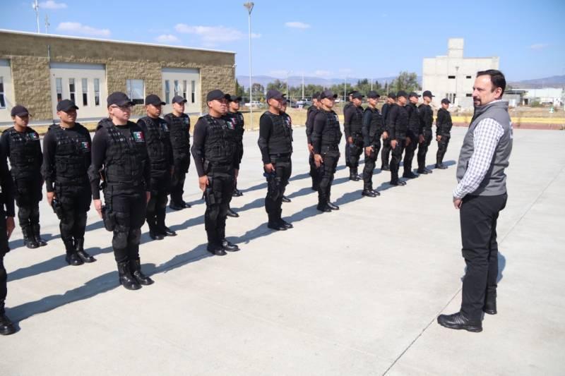 Nuevo bloque de cadetes se integra a la Policía Estatal