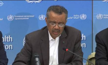 Declara OMS emergencia mundial de salud pública por coronavirus