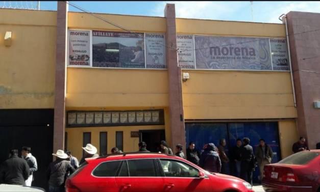 Empleados de Morena Hidalgo trabajarán desde casa