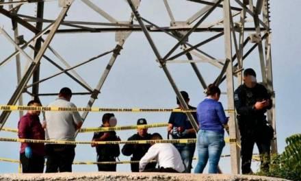 Niño de 12 años se suicida colgándose de una torre de CFE
