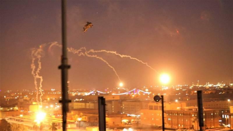 Caen Cohetes cerca de embajada de Estados Unidos en Irak