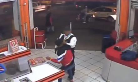 Policía intenta frustrar asalto pero falleció en el sitio (VIDEO)