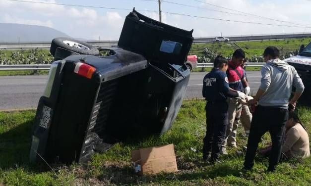 Carretera Federal México-Pachuca tramo Tolcayuca con alta incidencia en accidentes