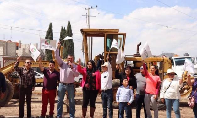 Alfonso Delgadillo pone en marcha importantes obras en Ciudad Sahagún