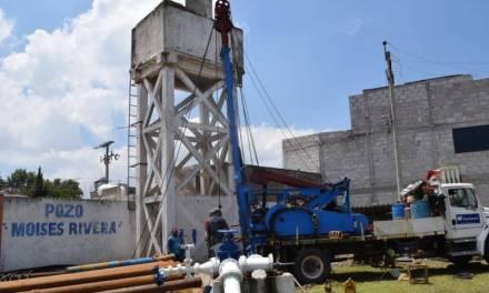 17 colonias de Tulancingo afectadas en el suministro de agua potable