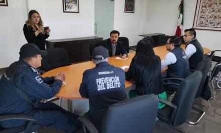 Tulancingo presentará protocolo para prevención y actuación en hechos violentos