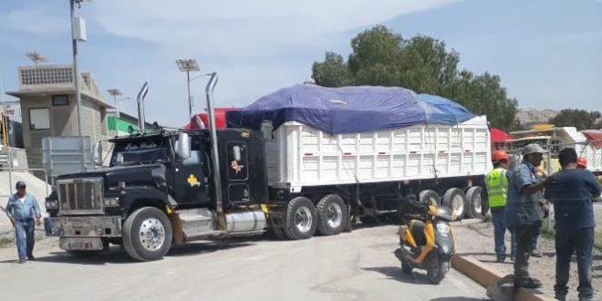 Transportistas sufren agresiones por no querer trabajar con intermediarios